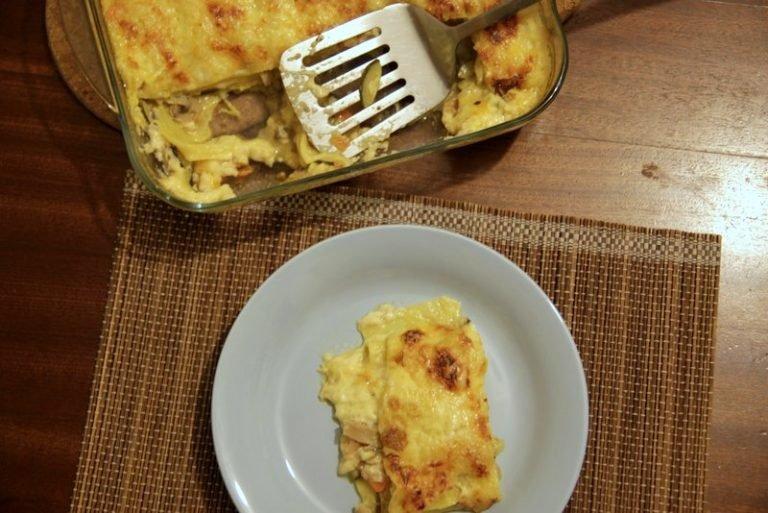 Na Cozinha – Lasanha Vegetariana
