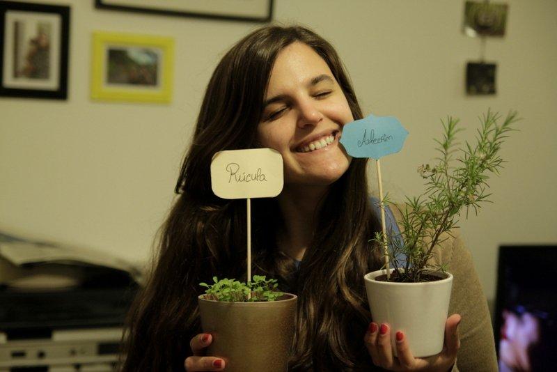 DIY – Etiquetas para Horta Urbana