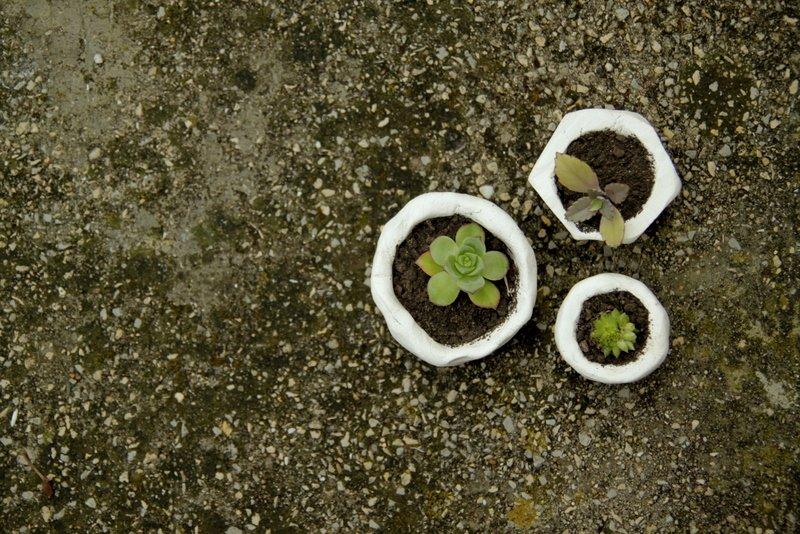 DIY – Vasos Geométricos
