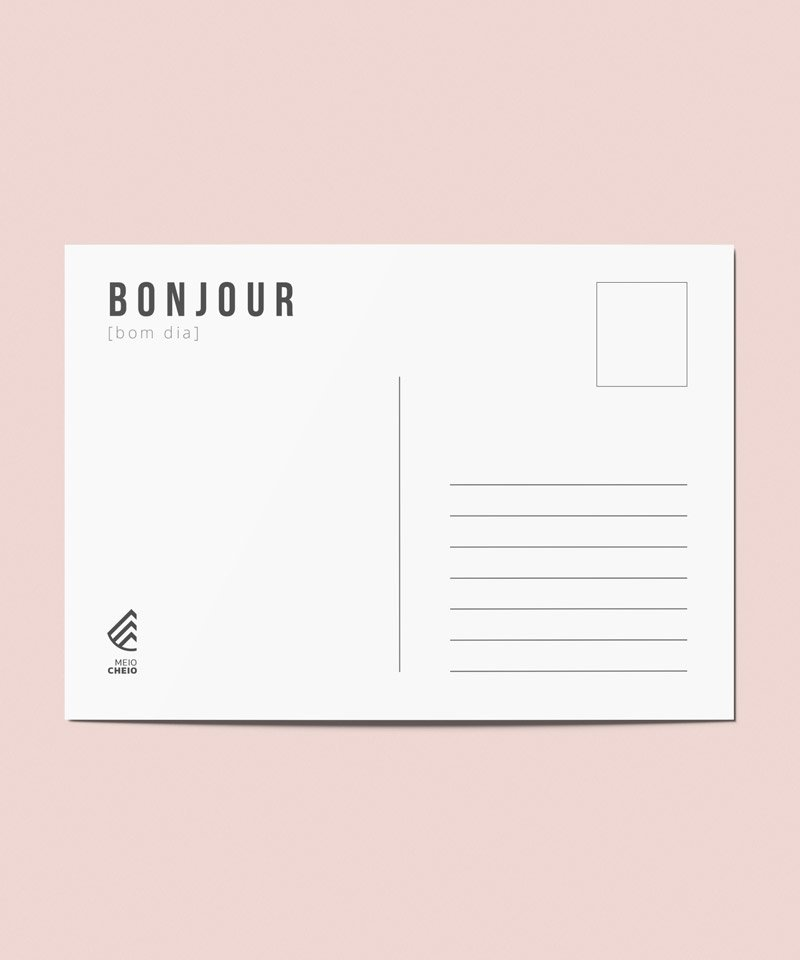 Postal Verso , França